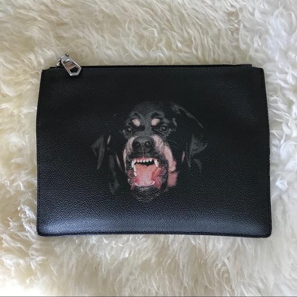 2f8ed3856de8 Givenchy Handbags - GIVENCHY Riccardo Tisci era Rottweiler print pouch